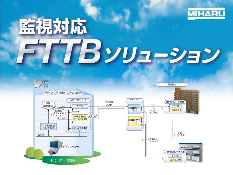 監視対応 FTTBソリューション