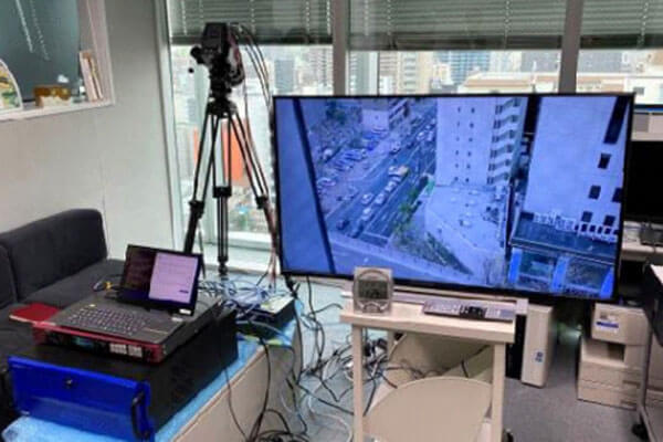 5Gを用いた8Kライブ伝送実証実験に成功